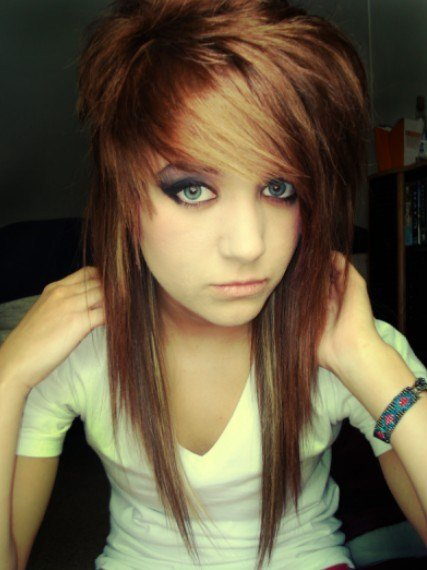 New Emo Hairstyles For Girls Latest Popular Emo Girls Haircuts Pictures Pretty Designs Ideas With Pictures