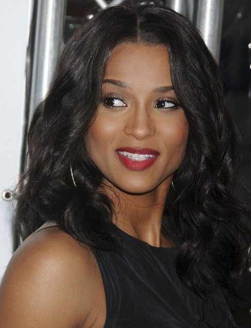 New Ciara Long Hairstyle Elegant Brunette Pretty Designs Ideas With Pictures