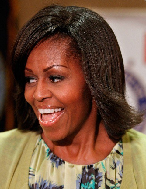 New Top 15 Michelle Obama Hairstyles Pretty Designs Ideas With Pictures