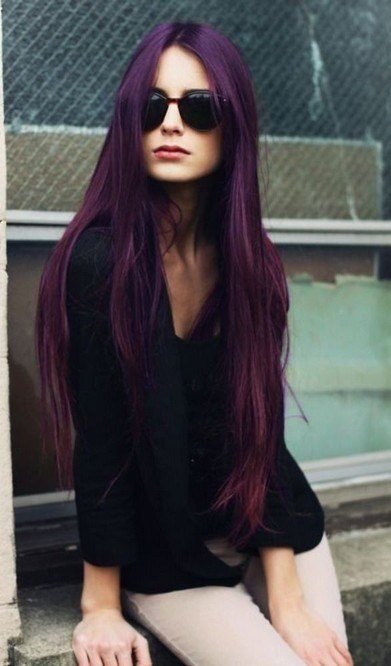 New Stunning Purple Hair Trend For Women Pretty Designs Ideas With Pictures