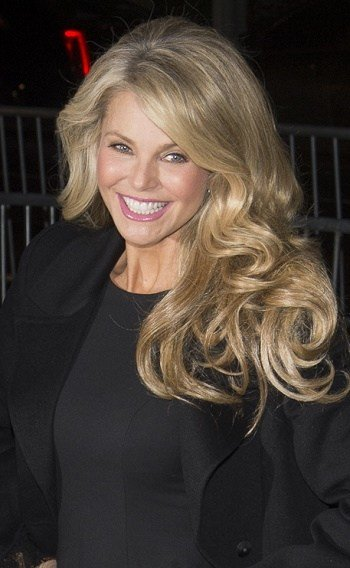 New Hairstyles Christie Brinkley Long Curled Hairstyle Ideas With Pictures