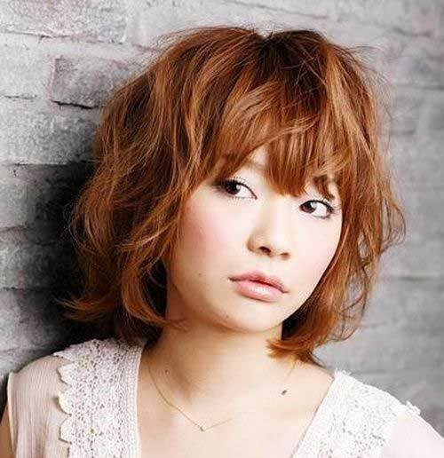 New Short Wavy Hairstyles For Round Faces Short Hairstyles Ideas With Pictures