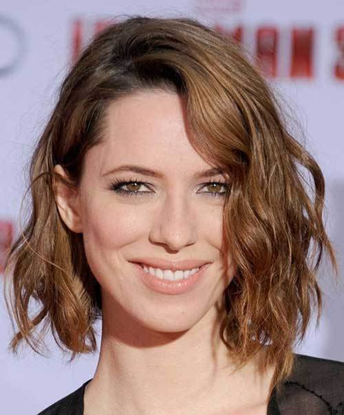 New 25 Best Wavy Bob Hairstyles Short Hairstyles 2017 2018 Ideas With Pictures