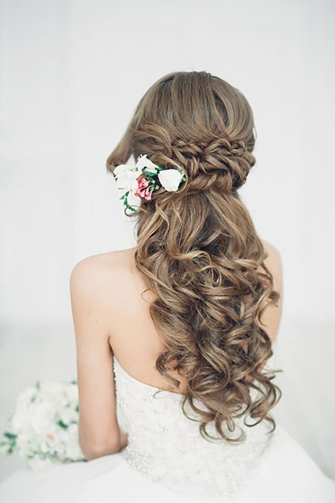 New 20 Stunning Half Up Half Down Wedding Hairstyles With Ideas With Pictures