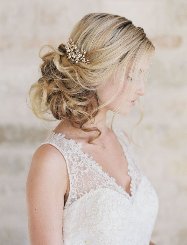 New 16 Romantic Wedding Hairstyles For 2016 2017 Brides Ideas With Pictures