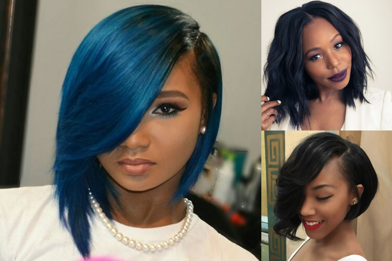 New Short Bob Hairstyle For Black Women Hair Color Ideas Ideas With Pictures