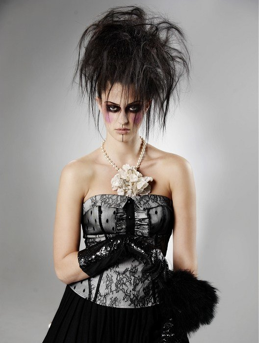 New Gothic Hairstyles Ideas With Pictures