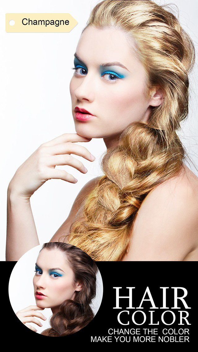 New Hair Color Dye Insta Wig Beautify Splash Effects Photo Ideas With Pictures
