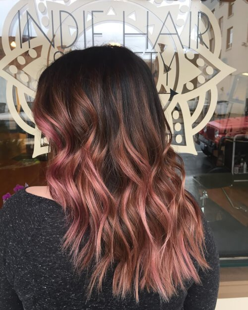 New 71 Smoking Hot Rose Gold Hair Color Ideas For 2018 Ideas With Pictures