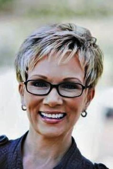 New Short Hairstyles For Women Over 60 With Glasses Latest Ideas With Pictures