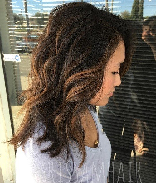New 60 Hairstyles Featuring Dark Brown Hair With Highlights Ideas With Pictures