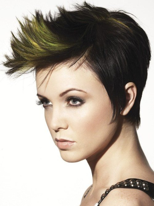 New 35 Short Punk Hairstyles To Rock Your Fantasy Ideas With Pictures
