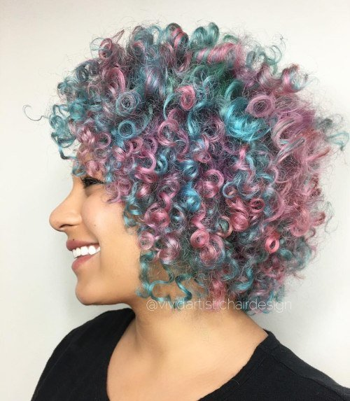 New 20 Cotton Candy Hairstyles That Are As Sweet As Can Be Ideas With Pictures