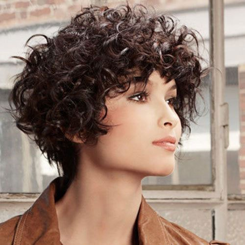 New 16 Short Hairstyles For Thick Curly Hair Crazyforus Ideas With Pictures