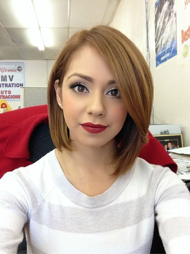New 15 Cute Chin Length Hairstyles For Short Hair Popular Ideas With Pictures