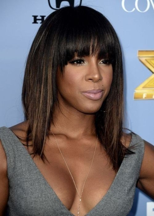 New 10 New Black Hairstyles With Bangs Popular Haircuts Ideas With Pictures