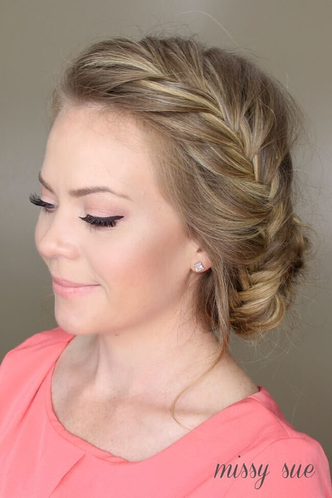 New 21 All New French Braid Updo Hairstyles Popular Haircuts Ideas With Pictures