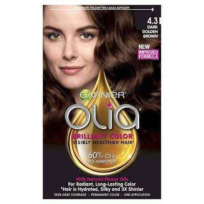 New Garnier Olia De Color De Pelo Permanente 4 3 Oscuro Ideas With Pictures