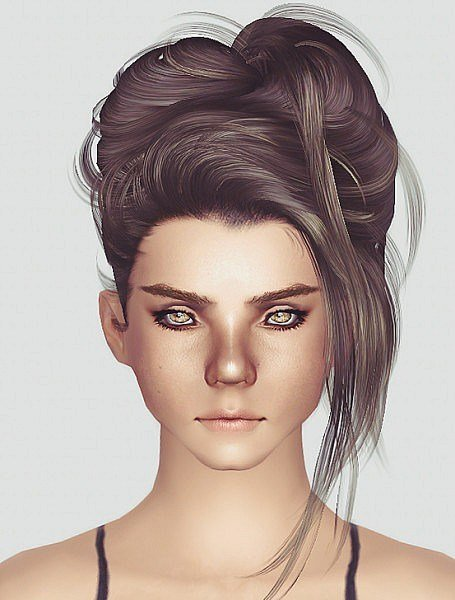 New The Sims 3 Newsea S Crazy Love Hairstyle Retextured By Momo Ideas With Pictures