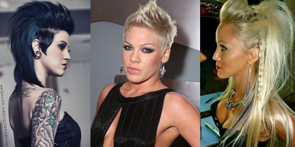 New Glamorous Rockstar Hairstyles The Haircut Web Ideas With Pictures