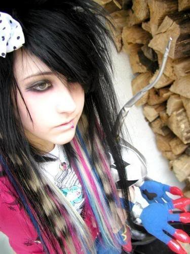 New Scene Kids Hairstyles Fashion Trends Latest Make Up And Ideas With Pictures