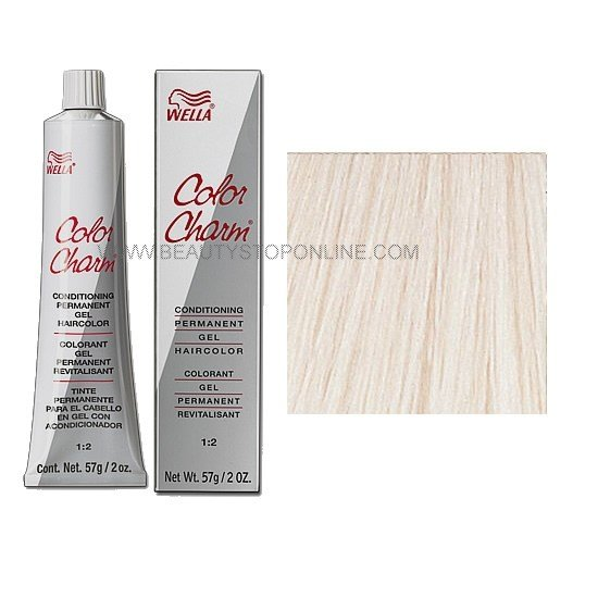 New Wella Color Charm Permanent Gel 12A 1210 Frosty Ash Ideas With Pictures