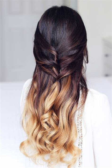 New Cute Half Up Half Down Hairstyle – Luxy Hair Ideas With Pictures