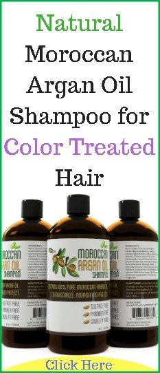 New Natural Moroccan Argan Oil Shampoo For Color Treated Hair Ideas With Pictures