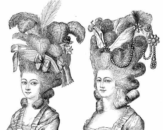 New Pitneypost Hair Circa 1700S Ideas With Pictures