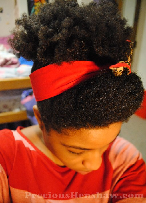 New Pin Up Scarf Hairstyle For Natural Hair Curlynikki Natural Hair Care Ideas With Pictures
