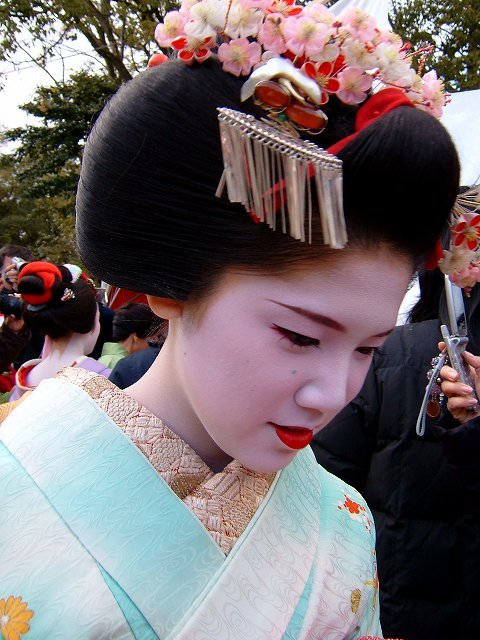 New Ŧhe ₵Oincidental Ðandy The Intricate Hairstyles Of Geisha Ideas With Pictures