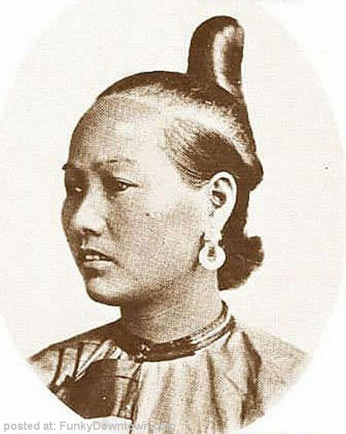 New Unik Trendy Hairstyles In 19Th Century China Ideas With Pictures