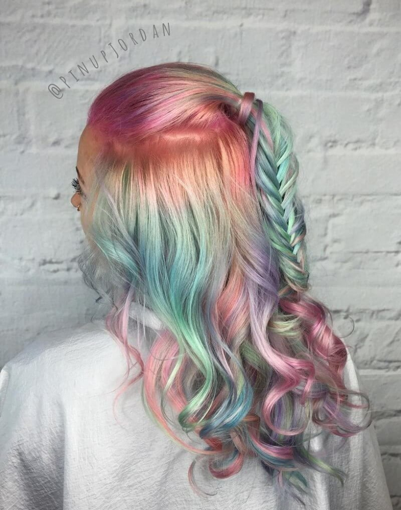 New 35 Cotton Candy Hair Styles That Look So Good You Ll Want Ideas With Pictures