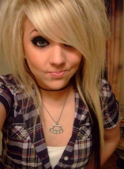 New The Beauty Of The Long Emo Hairstyle Gallery Hairstyles 2012 Ideas With Pictures