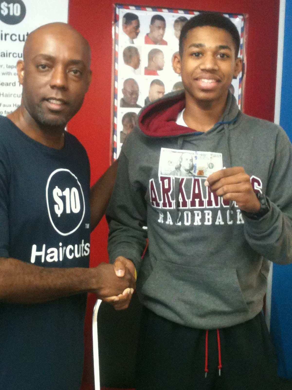 New 10 Dollar Haircuts 76011 100 00 Cash Goes To Julius Ideas With Pictures Original 1024 x 768