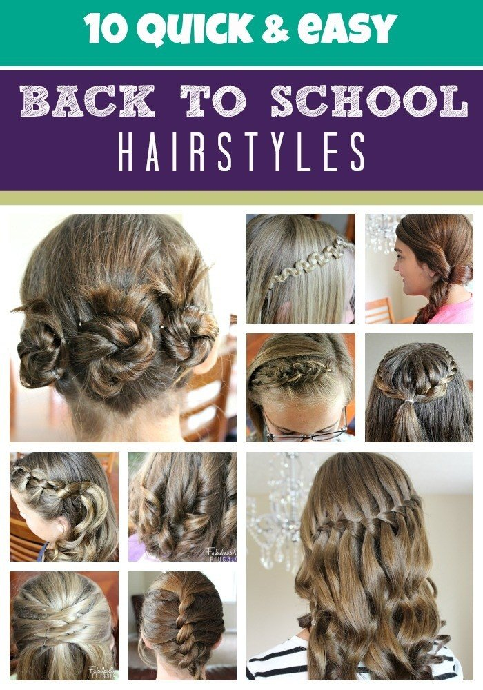 New Hairstyles For School Girls The Xerxes Ideas With Pictures