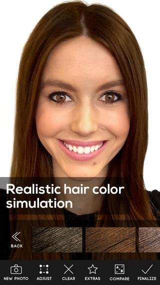 New Hair Color App Review Apppicker Ideas With Pictures