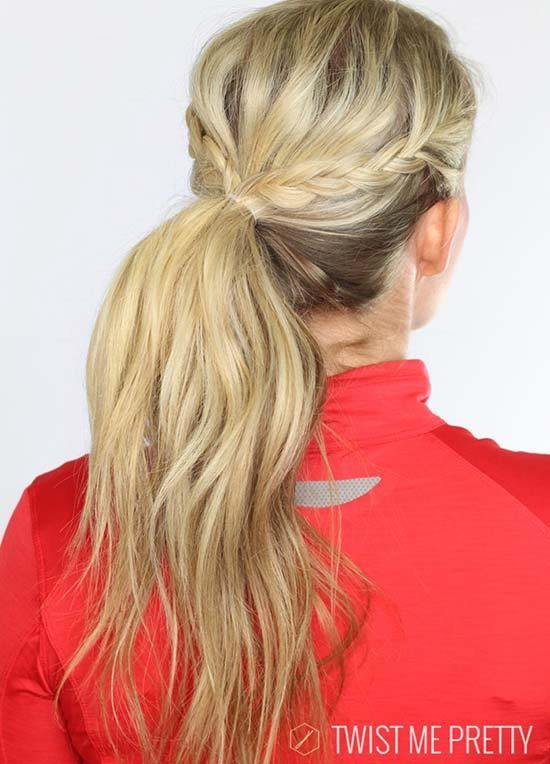 New Top 40 Best Sporty Hairstyles For Workout Fashionisers Ideas With Pictures