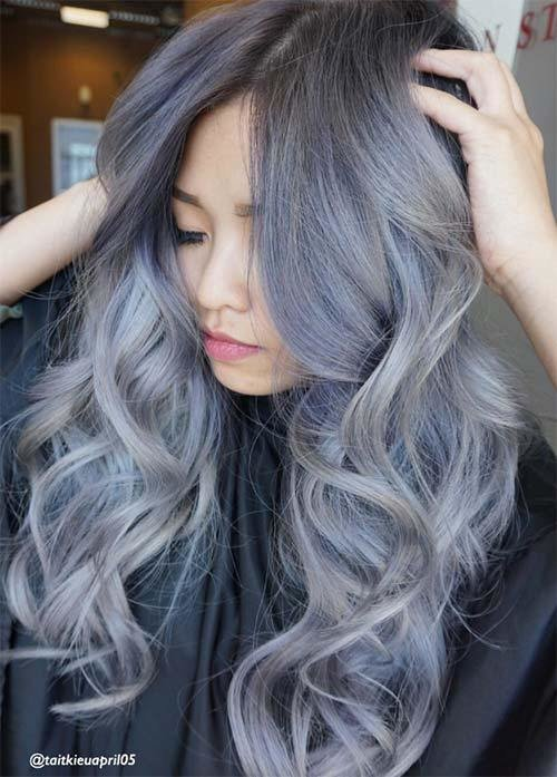 New 85 Silver Hair Color Ideas And Tips For Dyeing Ideas With Pictures