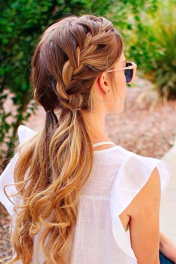 New Ladies Long Hairstyles Trends Tutorial Step By Step Looks Ideas With Pictures