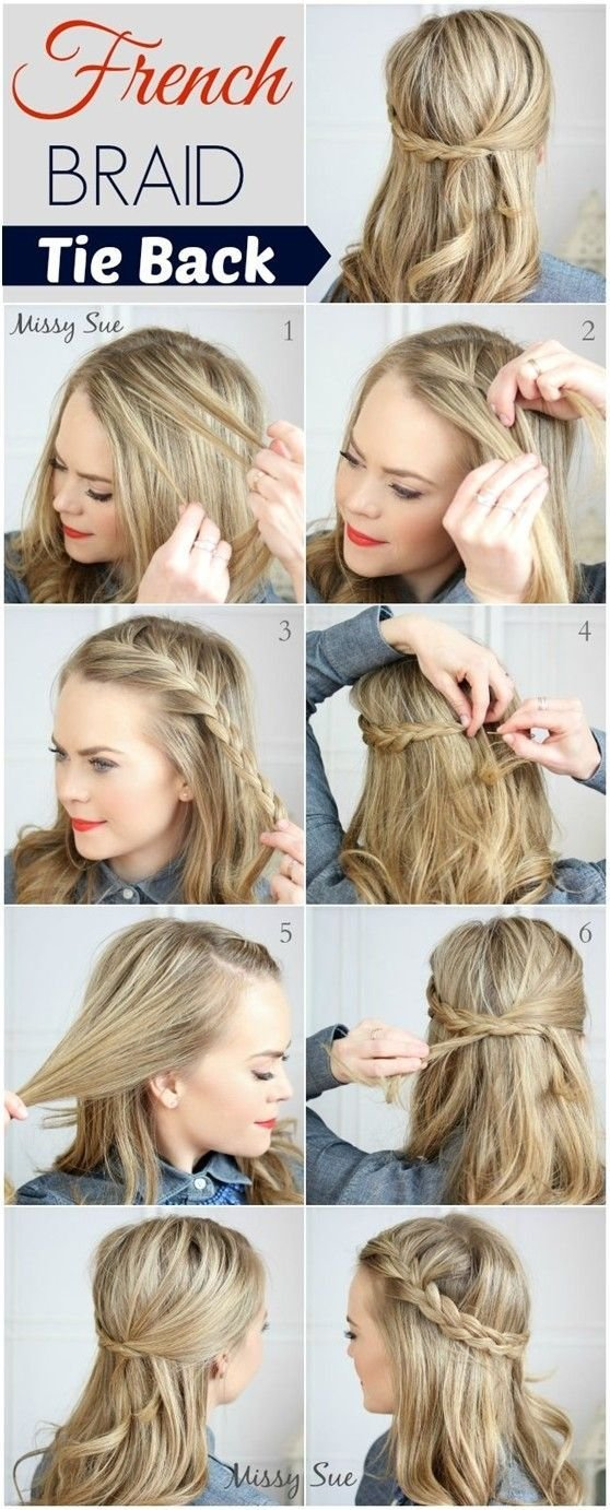 New 20 Cute And Easy Braided Hairstyle Tutorials Ideas With Pictures