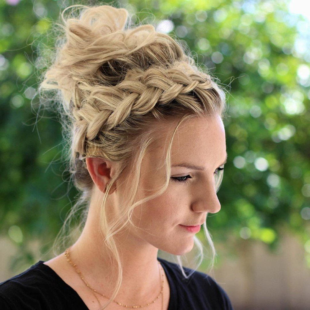 New Stunning Braided Hairstyle That Can Style You Elegantly Ideas With Pictures