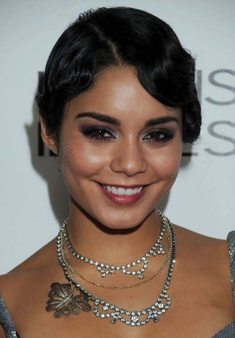 New 1920 S Hairstyle Short Black Side Part Haircut Ideas With Pictures