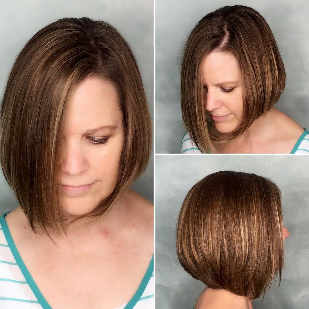 New 40 Most Flattering Bob Hairstyles For Round Faces 2019 Ideas With Pictures Original 1024 x 768