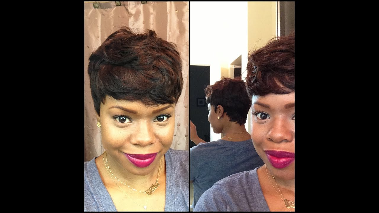 New Short And Sassy Custom 27 Piece Wig Youtube Ideas With Pictures