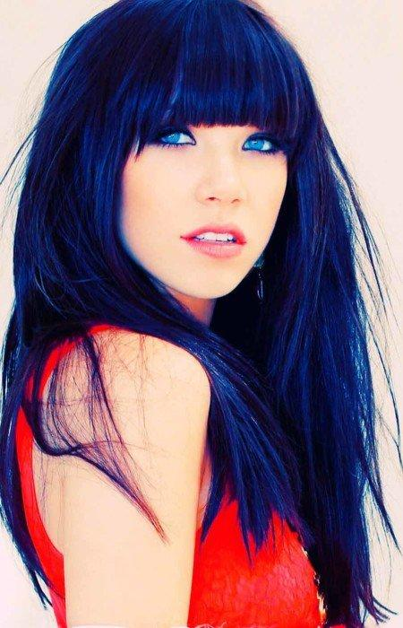 New Blue Black Hair Tips And Styles Dark Blue Hair Dye Styles Ideas With Pictures