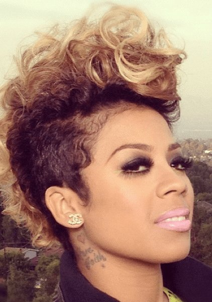 New Keyshia Cole 'Faux' Mohawk Feat Vv Love Yourself Love Ideas With Pictures