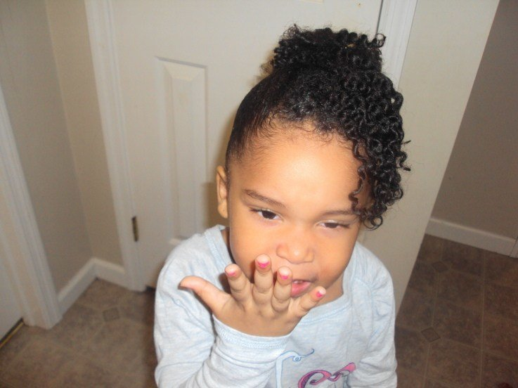 New Natural Hairstyles For Kids Thirstyroots Com Black Ideas With Pictures