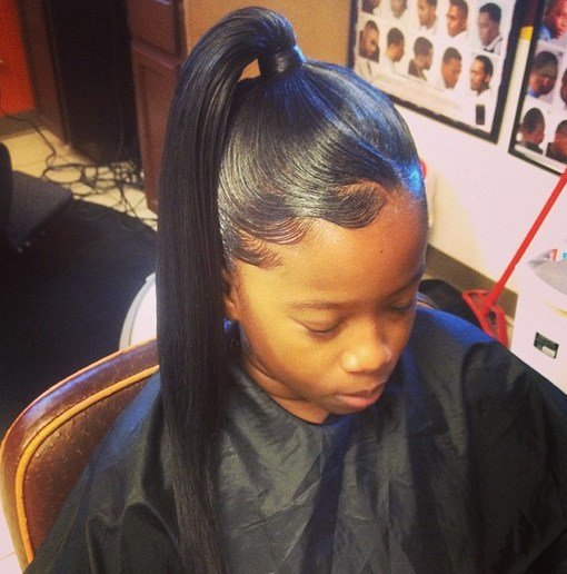 New African American Ponytail Hairstyles African American Ideas With Pictures