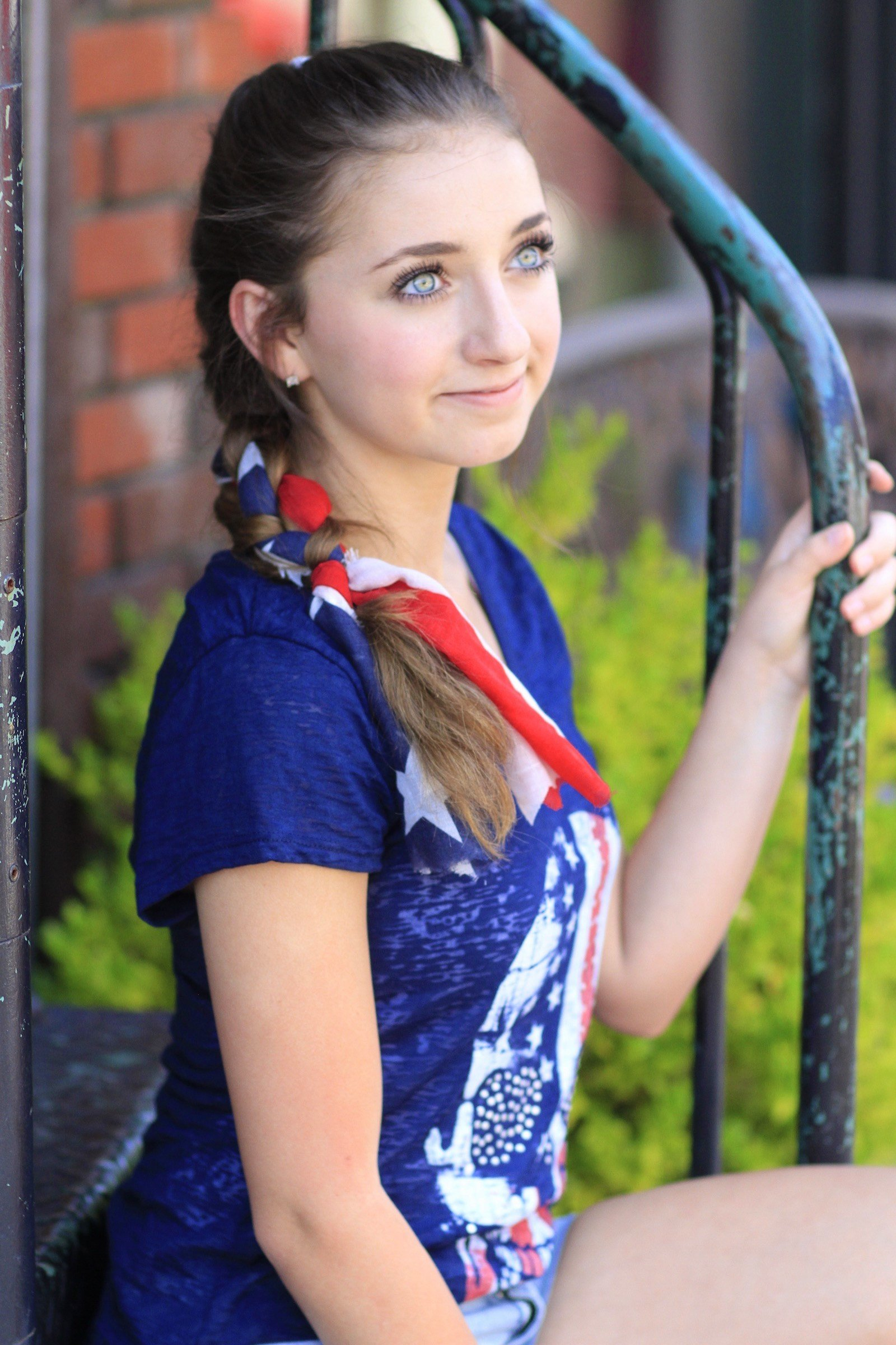 New 3 Minute Scarf Braid 4Th Of July Hairstyles Cute Girls Ideas With Pictures